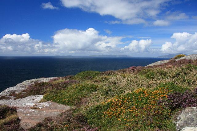 The West end of Killelan Mountain