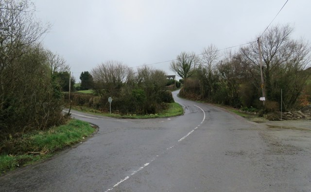 Road junction south of Riverstick