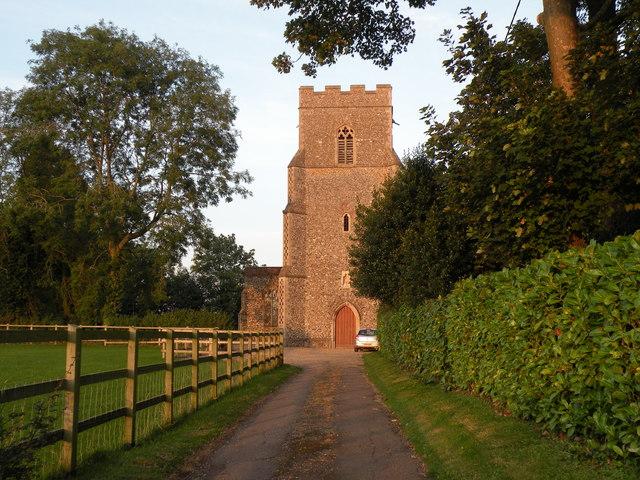St. Andrew: the parish church of Wickham Skeith