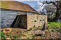 SZ2993 : Inland defences of WWII in SW Hampshire - defended building at Lymore (4) : Week 14