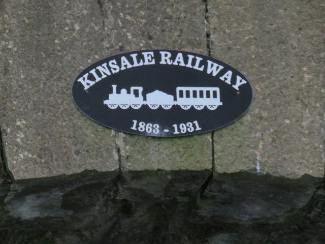 Railway plaque