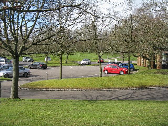 Car Park At Bretby Crematorium M J Richardson Geograph - Cool cars bretby