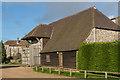 TR2741 : Barn, St Radigund's Abbey Farm by Ian Capper