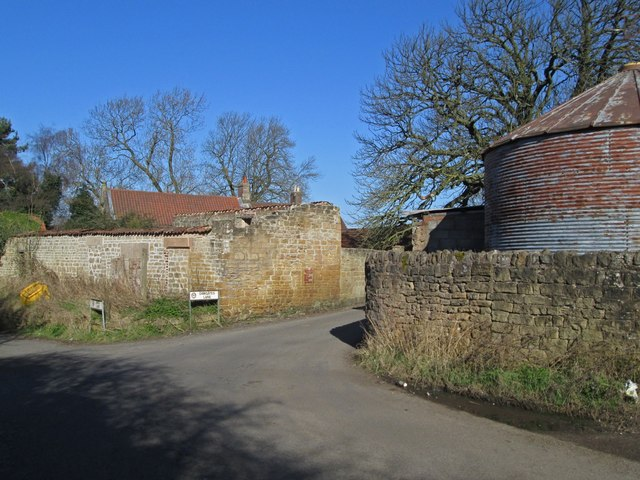 Skegby - junction of Dawgates Lane with Back Lane