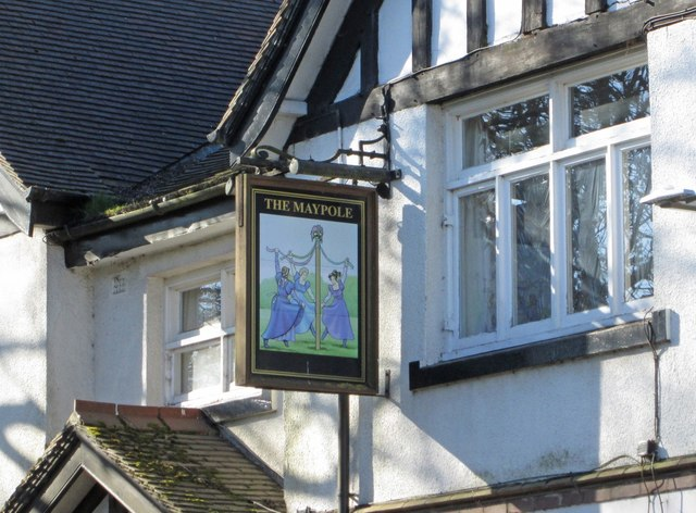 Skegby - The Maypole - Inn Sign