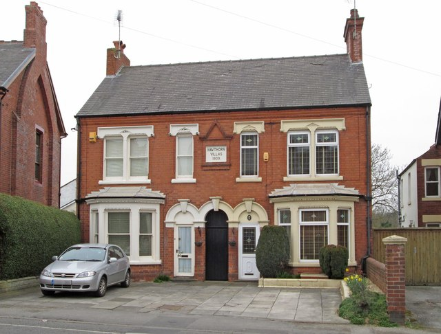 Sutton-in-Ashfield - Kirkby Road - Hawthorne Villas