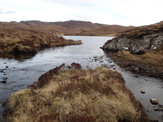 Outflow, Loch a' Choire Bhuig