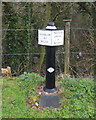 SJ6676 : Mile Marker on the Trent and Mersey Canal at Marston by Gary Rogers