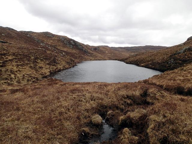 Lochan feeding Allt Loch Ob an Lochain