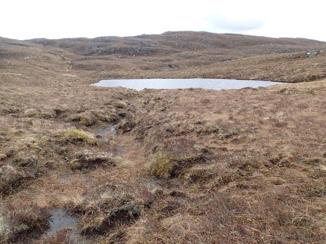 Lochan below Beinn Donuill