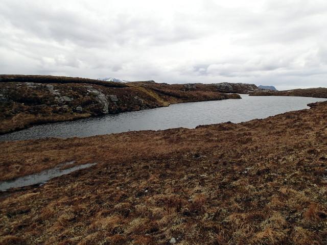 Lochan south of Beinn Donuill