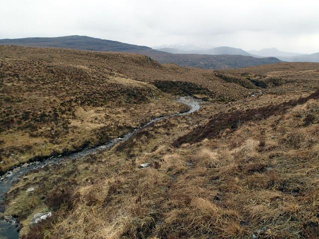 Allt Mor below Lochanan an Uillt Mhoir