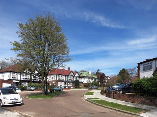 Abbots Gardens East Finchley Des Blenkinsopp Cc By Sa 2