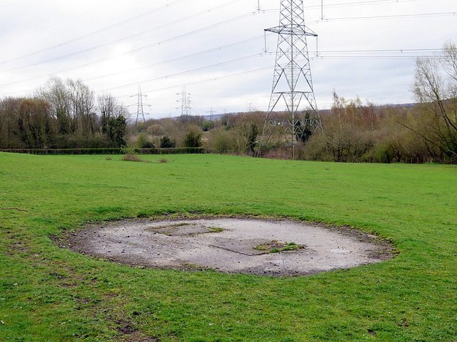 Capped shaft of Throckley Isabella Colliery