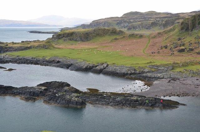 Raised Beach At Port A Chaisteil 169 Jim Barton