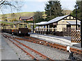 SN7376 : GWR Carriages at Devil's Bridge Station by David Dixon