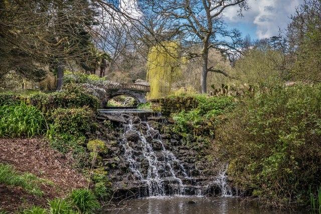 Minterne Gardens Weir