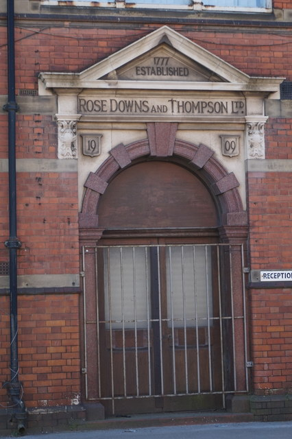 Rose Downs & Thompson Ltd, Hull
