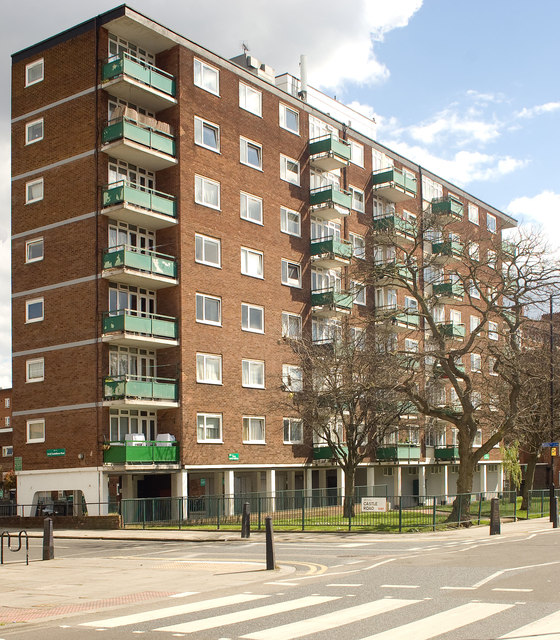Stonecastle Apartments: Housing Block, Castlehaven Road, Camden... © Julian Osley Cc-by-sa/2.0 :: Geograph Britain And