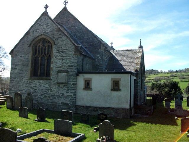 St. Garmon's Church, St. Harmon, Powys