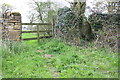 SP4823 : Two stiles for footpath towards Rousham by Roger Templeman