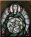 SK7053 : Angel window(5), Southwell Minster by J.Hannan-Briggs