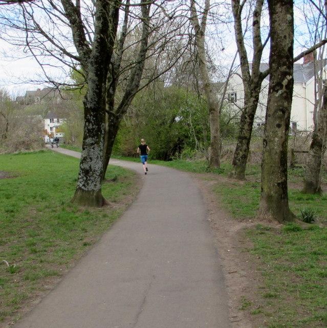 Jogging Through Hailey Park Llandaff Jaggery Cc By