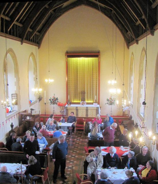 Inside St Cross, Wilstone