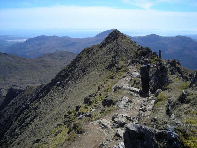 Bwlch Main ridge