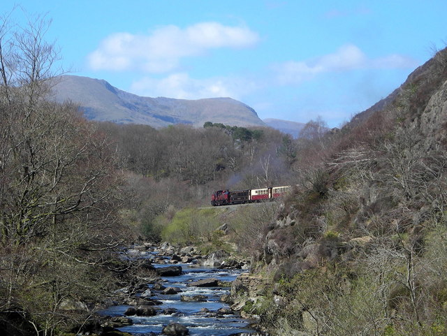 Railway by the river