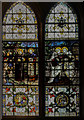 SK7053 : Window n.6 Southwell Minster by J.Hannan-Briggs