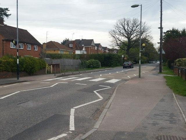 Pedestrian crossing, Park Road, Camberley