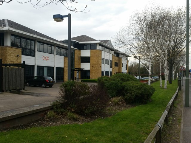 Office buildings by Frimley Road, Frimley