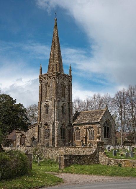 Trent: Church of St Andrew