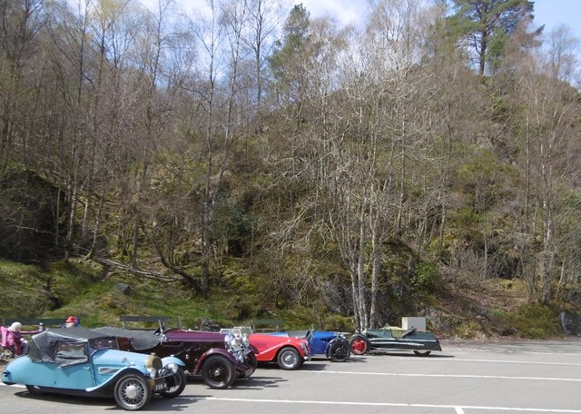 Trossachs Pier Car Park