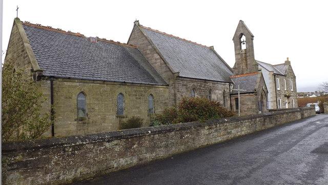 St. Ebba's Church in Eyemouth