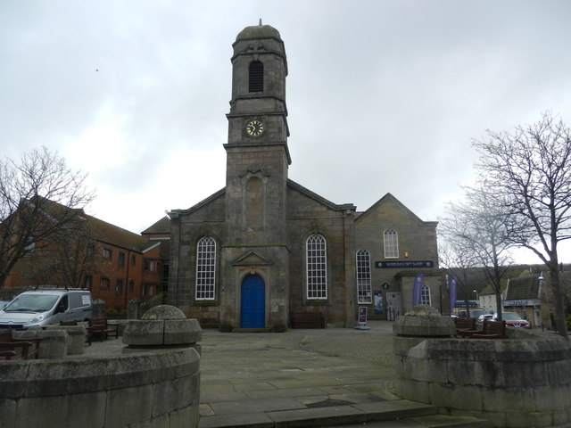 Former Parish Church of Eyemouth
