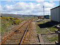 SN6193 : Railway yard at Ynyslas by John Lucas