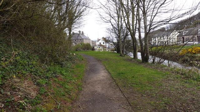 Footpath along the Eye Water