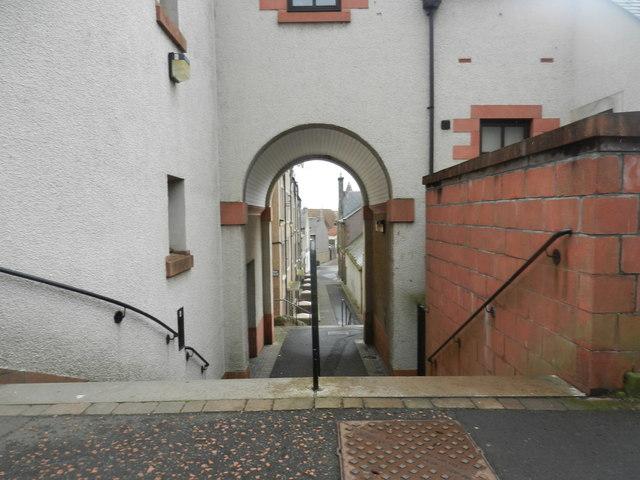 Reston Terrace in Eyemouth