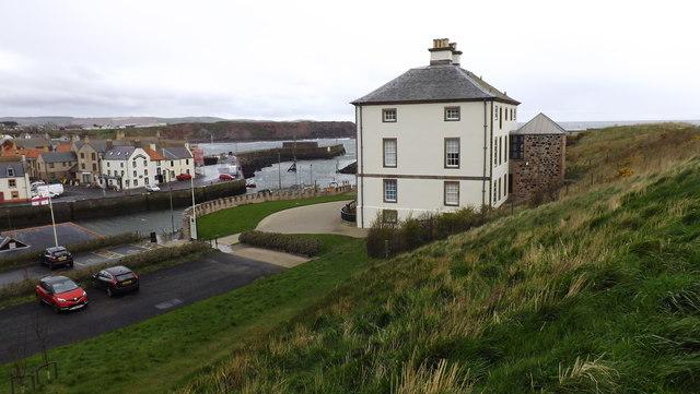 Gunsgreen House in Eyemouth