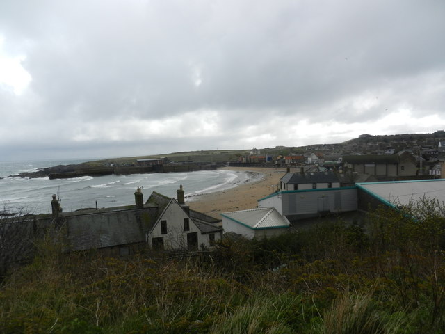 A view of Eyemouth
