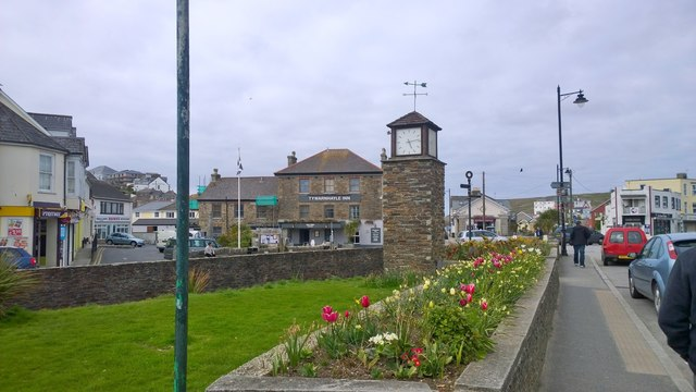 The Clock Tower in Perranporth