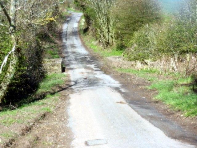 Heading towards Foulden in Berwickshire