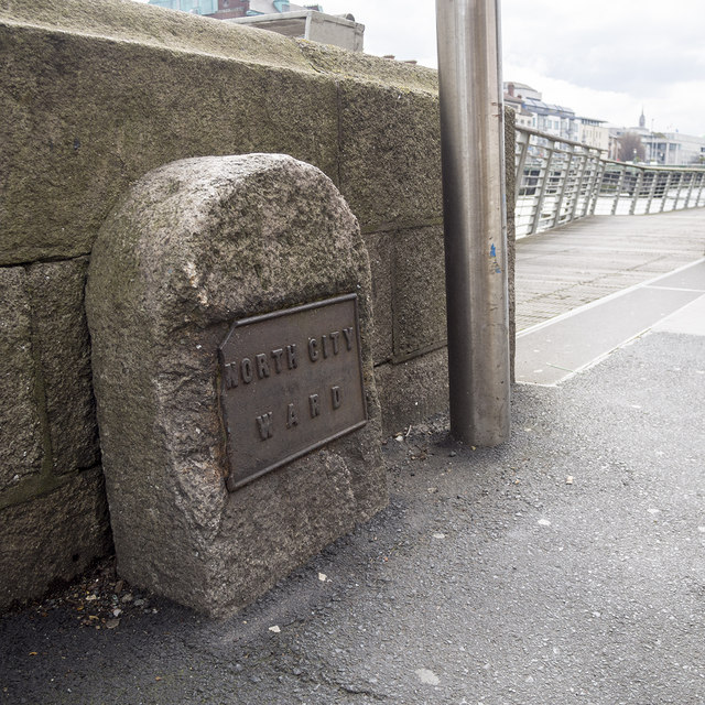 Ward boundary marker, Dublin