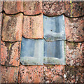 NO3014 : Glazed replacement pantiles on Nisbetfiled field farm outbuildings by David