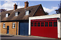 SP8744 : Old fire station, Newport Pagnell by Stephen McKay