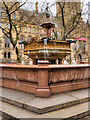 SJ8398 : Queen Victoria Jubilee Fountain in Albert Square by David Dixon