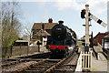 TQ4023 : Running Around the Train by Peter Trimming