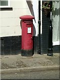 SO3164 : Presteigne Post Office postbox, ref LD8 268 by Alan Murray-Rust